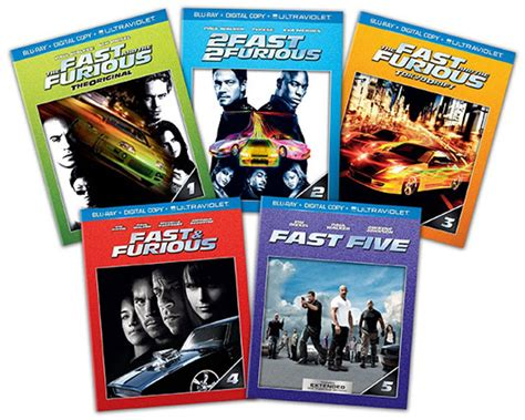 fast and furious movies in order deal fast and furious 1 5 dvd blu ray bundles