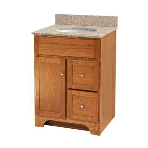 Oak Bathroom Vanities Worthington 24 Quot Vanity No Top Planet Granite