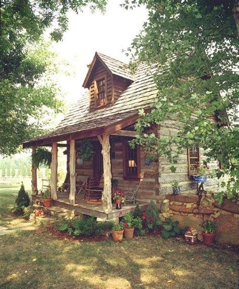 Country Cabin Getaways by Tiny Log Cabin By Sacagawea Building Tiny