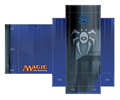 magic the gathering card box template dimir guild deckbox template by lumberjacksquid on deviantart