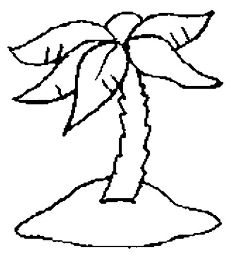 palm tree coloring pages coloringpagesabc com
