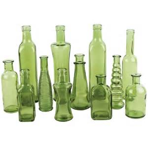 Green Glass Bottle Vase by 301 Moved Permanently