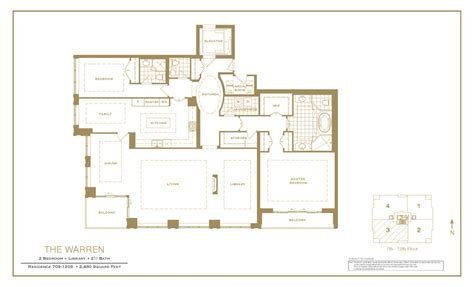 The Warren Floor Plan | the warren condo floor plan the warren condo floor plan