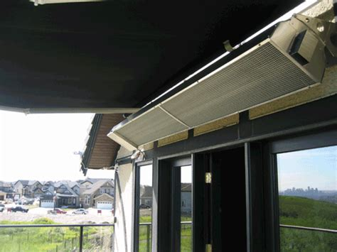 Calcana Patio Heaters by Outdoor Rooms Need Outdoor Heaters