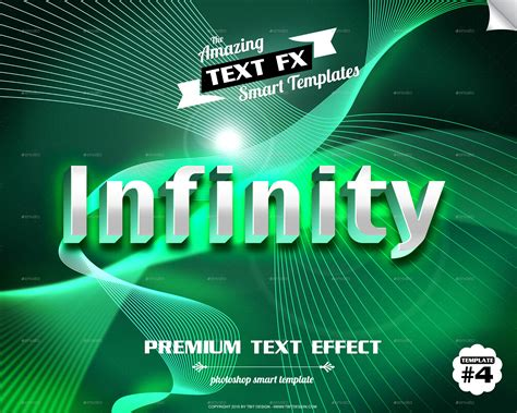 text effect smart object templates by ecoverdesign