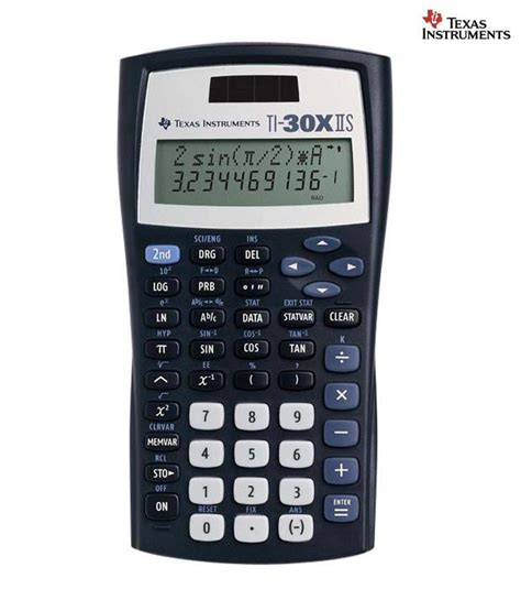 instruments ti 30x iis scientific calculator buy