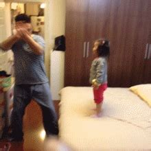 bed gif kid punching gifs find share on giphy