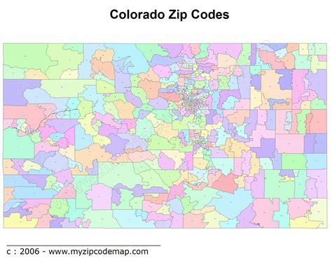 colorado zip codes map colorado zip code maps free colorado zip code maps
