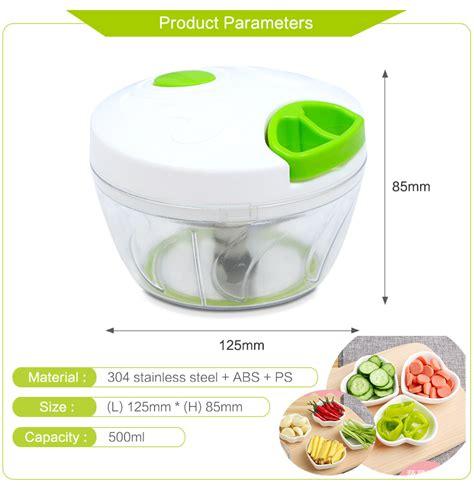 Blender Daging Manual blender tangan pemotong daging bawang buah dan sayuran