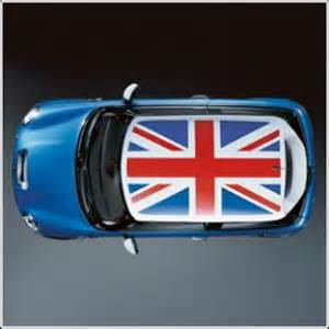 Mini Cooper With Union Roof Mini Cooper Roof Decor Union For White Or