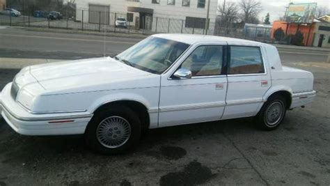 1993 chrysler new yorker for sale 30 used cars from 840 1993 chrysler new yorker salon sedan for sale photos technical specifications description