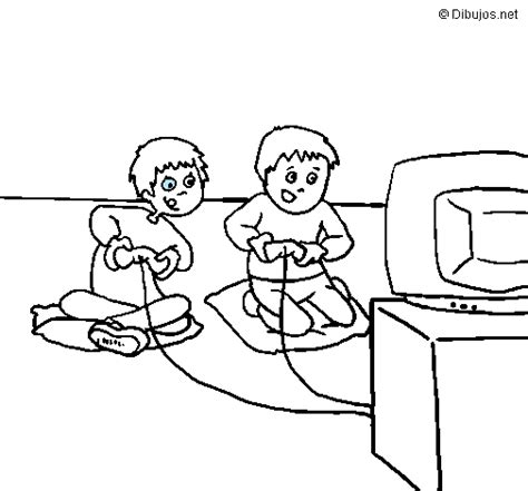imagenes de niños jugando xbox jugar xbox dibujo imagui