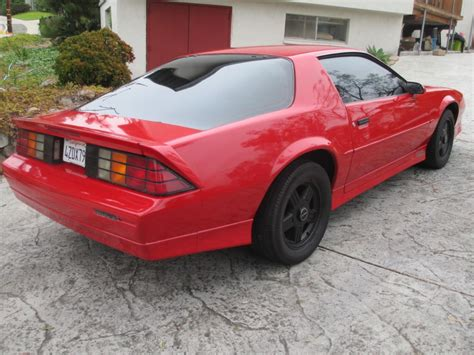 1988 chevrolet camaro iroc z28 for sale