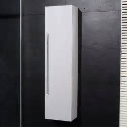 new bathroom wall mounted hung side cabinet unit