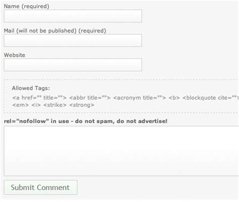 Html Comment Section by Comment Box Interaction Design Pattern Library Welie