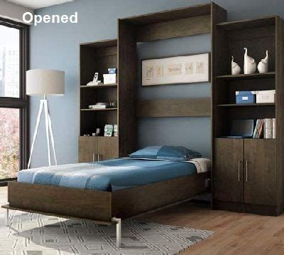 ikea murphy bed painted   white     guest