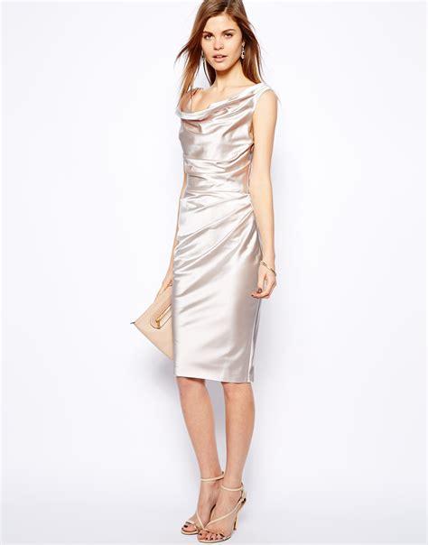 manda dress coast manda dress in metallic lyst