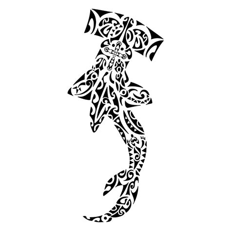 tribal hammerhead shark tattoo 30 awesome hammerhead shark designs