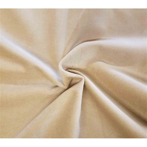 cream curtain material cream cotton velvet fabric by the yard upholstery and