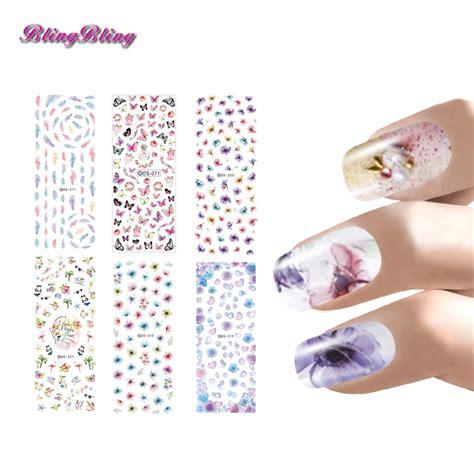 Nail Wrap Water Decal Sticker Kuku For Nail Nw13 aliexpress buy diy nail sticker set water decals nail wraps kits fingernail decal