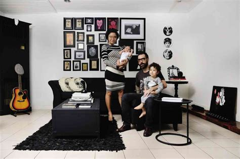 chanel inspired room artist creates a black and white home inspired by coco chanel s inquirer lifestyle