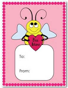 printable valentines day kids card template