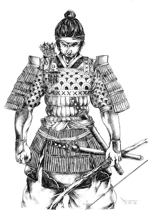 samurai warrior by kevintolibao on deviantart