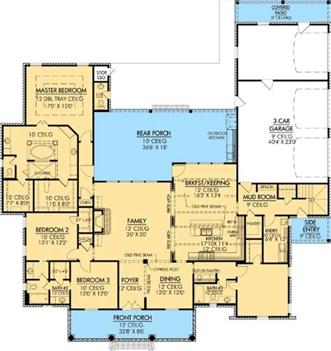 country european house plans plan w56367sm southern photo gallery corner lot