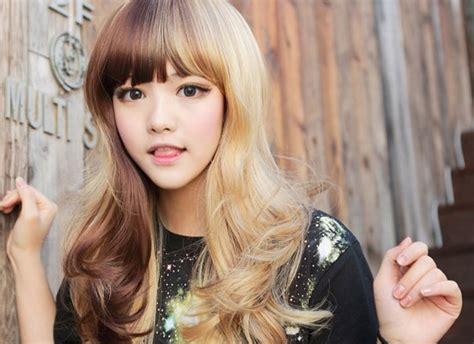 hairstyles half color 25 beautiful long hairstyles with bangs