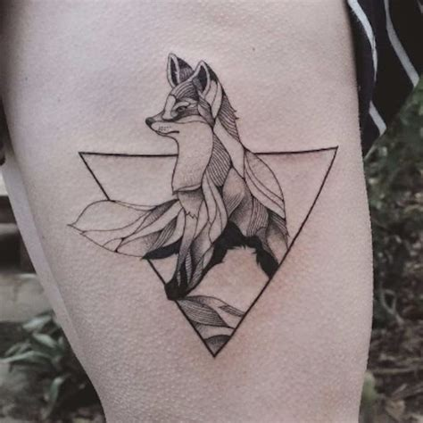 geometric tattoos animals best 25 geometric animal ideas on