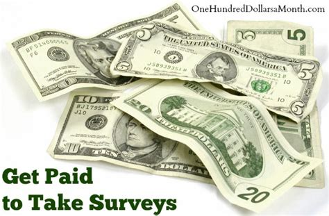Get Paid Cash For Surveys - frugal living