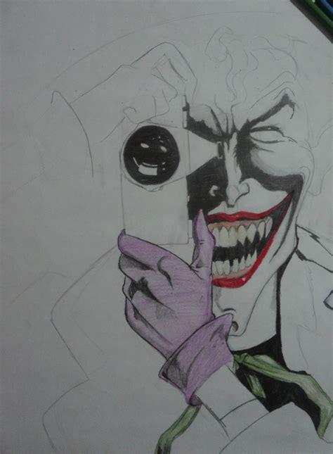 imagenes del guason para dibujar faciles dibuje al joker guason a color lapiz taringa