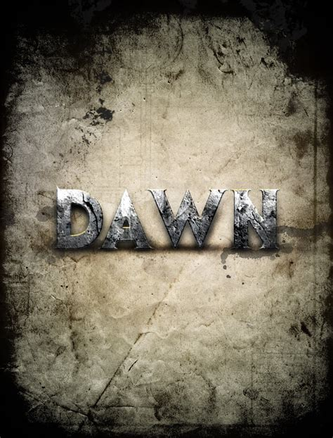 pattern photoshop war design a dawn of war style concrete text effect in