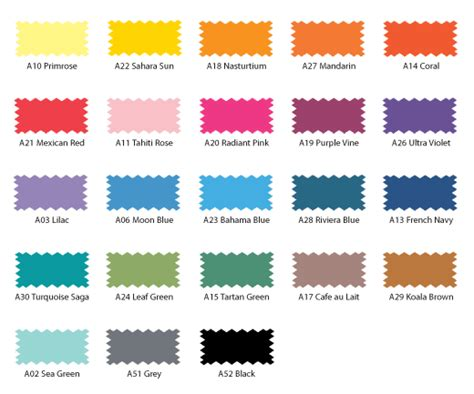 dylon cold colour palette colour charts purpose fabric dye and colour chart