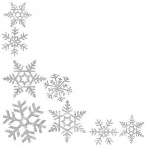 Winter border clip art snowflake border clipart black and white 60