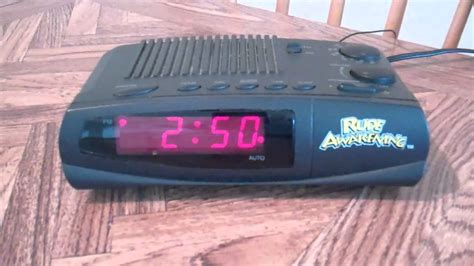 quot rude awakening quot alarm clock