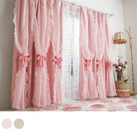 mädchen gardinen vorhang kinderzimmer rosa speyeder net verschiedene