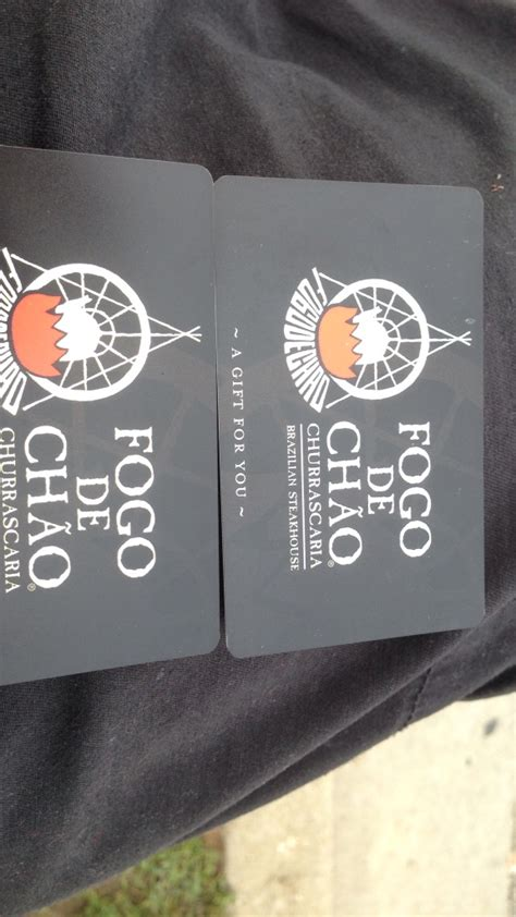 Fogo De Chao Gift Cards - letgo fogo de chao gift card in union city nj