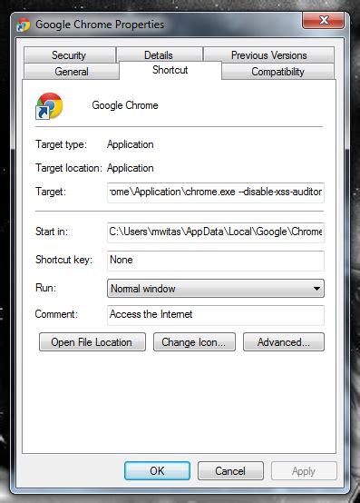 chrome xss auditor google chrome i xss auditor w windows technical blog