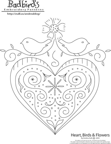 heart embroidery pattern punch patterns on pinterest heart quilt pattern