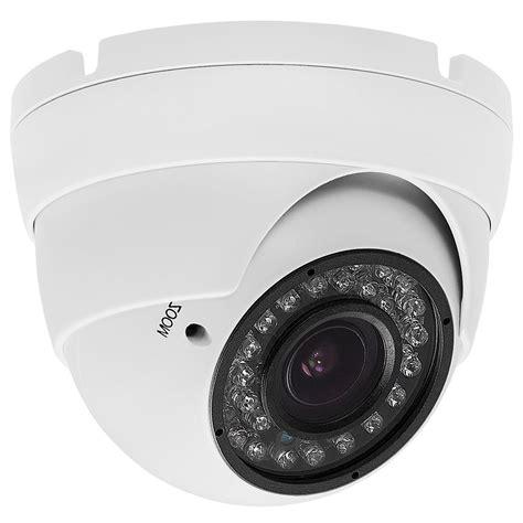 Cctv Indoor 1000 Tvl Jernih security indoor outdoor dome 1000tvl white 36ir 2 8 12mm varifocal
