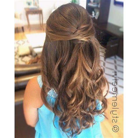 hairstyles for long hair pulled back photo gallery of long hairstyles half pulled back viewing