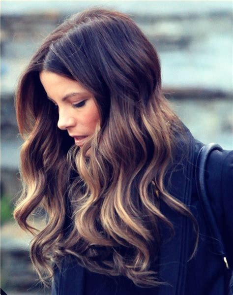 ombre hair for brunettes ombre highlights glam radar