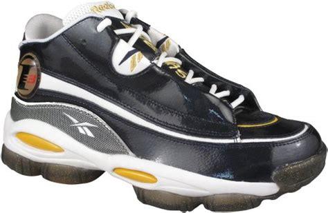 reebok dmx basketball shoes reebok reebok s answer dmx 10 allen iverson i3 navy