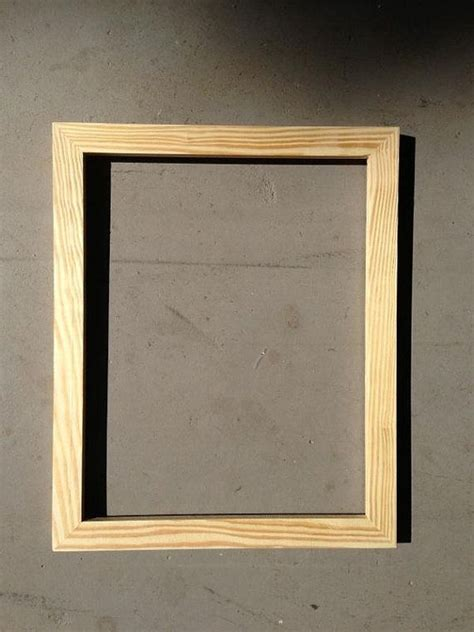 Handcrafted Picture Frames - wood frame 11x14 handmade picture frame