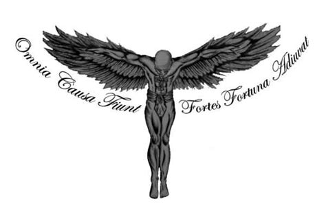 fortes fortuna juvat tattoo omnia causa fiunt fortes fortuna everything happens for a