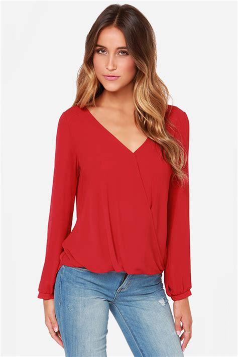 Jumbo Big Blouse Hewilsa Plain Longsleeve blouse sleeve top chiffon top 33 00
