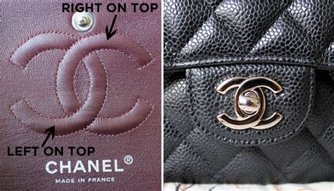 How To Tell If A L Is Real by How To Spot A Chanel See It In Pictures Here