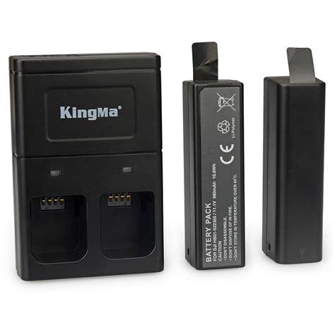 Baterai Dji Osmo kingma baterai dji osmo 2pcs dengan charger baterai 2 slot