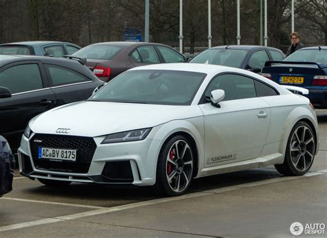 Audi Tt 2017 by Audi Tt Rs 2017 18 December 2016 Autogespot